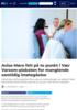 Avisa Møre felt på to punkt i Vær Varsom-plakaten for manglende samtidig imøtegåelse
