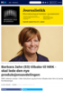 Barbara Jahn (53) tilbake til NRK - skal lede den nye produksjonsavdelingen