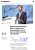 Bekymringsmelding til Høie: Trenger flere bioingeniører og må sikre et fullt forsvarlig arbeidsmiljø
