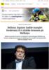 Bellona: Equinor hadde manglet ferskvann til å slukke brannen på Melkøya