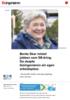 Bente Skar mistet jobben som 58-åring. Da skapte bioingeniøren sin egen arbeidsplass