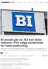 BI-avtale går ut: Nå kan Oslo-rektorer fritt velge studiested for lederutdanning