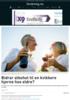 Bidrar alkohol til en kvikkere hjerne hos eldre?
