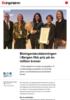 Bioingeniørutdanningen i Bergen fikk pris på én million kroner