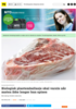 Biologisk plastemballasje skal varsle når maten ikke lenger kan spises