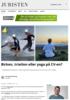 Birken, triatlon eller yoga på CV-en?