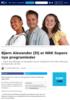 Bjørn Alexander (31) er NRK Supers nye programleder