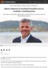 Bjørnar Skjæran fra Nordland innstilles som ny nestleder i Arbeiderpartiet