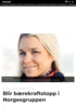 Blir bærekraftstopp i Norgesgruppen