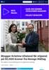 Blogger Kristine Ullaland får stipend på 50.000 kroner fra Noregs Mållag
