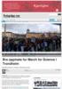 Bra oppmøte for March for Science i Trondheim