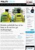 Britiske politifolk har så lav lønn at de må leve på matkuponger