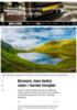Brunere, men bedre vann i norske innsjøer