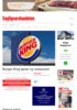 Burger King åpner ny restaurant