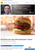 BURGERBOT Burgerbot kan lage 400 hamburgere i timen