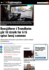 Bussjåfører i Trondheim går til streik for å få spise lunsj sammen