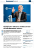Byrådsleder Johansen utelukker ikke at Oslo kan måtte isoleres