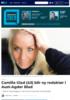 Camilla Glad (43) blir ny redaktør i Aust-Agder Blad