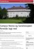 Campus Nesna og Sandnessjøen foreslås lagt ned