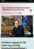 Chatbot-oppstart får med seg statlig investeringsselskap i ryggen