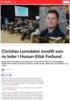 Christian Lomsdalen innstilt som ny leder i Human-Etisk Forbund