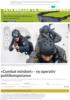 «Combat mindset» - ny operativ politikompetanse