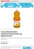 Coop tilbakekaller appelsinmarmelade og appelsinsaft