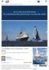 Cruiseskip mot trimaraner, racet i gang