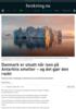 Danmark er utsatt når isen på Antarktis smelter - og det gjør den raskt