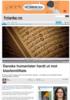 Danske humanister hardt ut mot blasfemitiltale