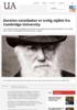 Darwins notatbøker er trolig stjålet fra Cambridge University