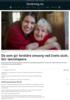 De som gir foreldre omsorg ved livets slutt, blir lønnstapere