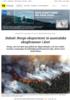 Debatt: Norge eksporterer to australske skogbranner i året