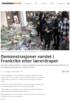 Demonstrasjoner varslet i Frankrike etter lærerdrapet