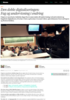 Den doble digitaliseringen: Fag og undervisning i endring