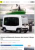 Denne selvkjørende bussen skal testes i Norge i år