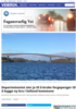 Departementet sier ja til å bruke fergepenger til å bygge ny bru i Sollund kommune