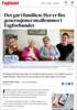 Det går i familien: Her er fire generasjoner medlemmer i Fagforbundet