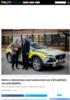 Dette er bilmerkene som konkurrerte om å bli politiets nye patruljebiler