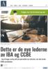Dette er de nye lederne av IBA og CCBE