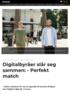 Digitalbyråer slår seg sammen: - Perfekt match