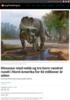 Dinosaur med nebb og tre horn vandret rundt i Nord-Amerika for 82 millioner år siden