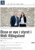 Disse er nye i styret i Midt-Hålogaland