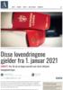 Disse lovendringene gjelder fra 1. januar 2021