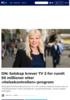 DN: Selskap krever TV 2 for rundt 50 millioner etter «Helsekontrollen»-program