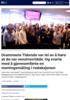 Drammens Tidende var lei av å høre at de var venstrevridde. Og svarte med å gjennomførte en meningsmåling i redaksjonen