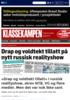 Drap og voldtekt tillatt i russisk realityshow, skrev NTB, VG og flere medier. Men det var nok ikke sant