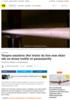 DRONER Vingen smadres: Her tester de hva som skjer når en drone treffer et passasjerfly