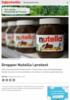 Dropper Nutella i protest