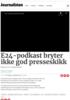 E24-podkast bryter ikke god presseskikk